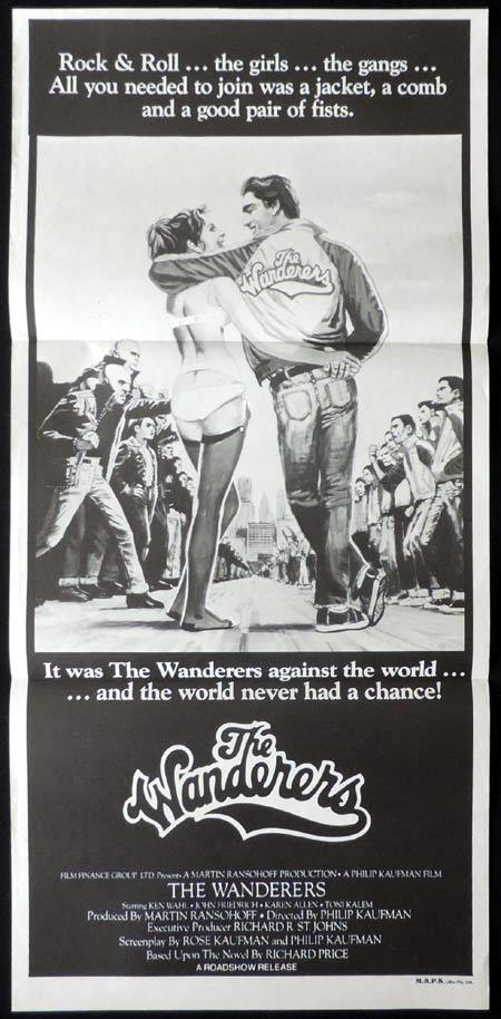 THE WANDERERS Original Daybill Movie Poster Ken Wahl Karen Allen