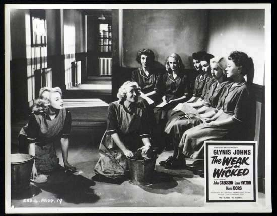 The Weak and the Wicked, J. Lee Thompson, Glynis Johns, Diana Dors