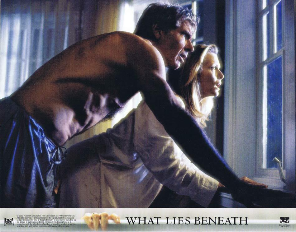 WHAT LIES BENEATH Lobby Card 2 Harrison Ford Michelle Pfeiffer Diana Scarwid