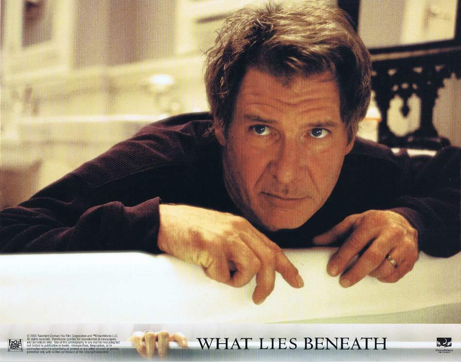 What Lies Beneath, Robert Zemeckis, Harrison Ford Michelle Pfeiffer Diana Scarwid Miranda Otto James Remar