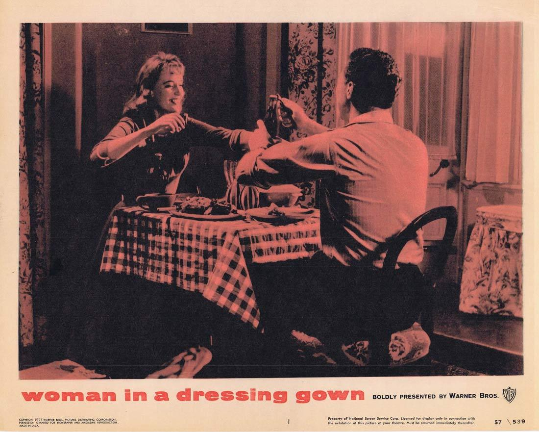 WOMAN IN A DRESSING GOWN Lobby Card 1 Yvonne Mitchell Anthony Quayle Sylvia Syms