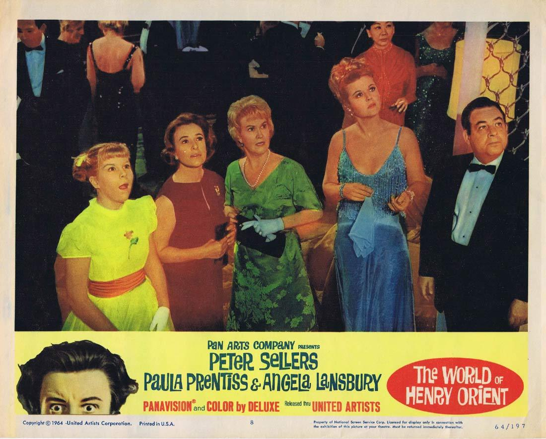 THE WORLD OF HENRY ORIENT Lobby Card 8 Peter Sellers Paula Prentiss Merrie Spaeth