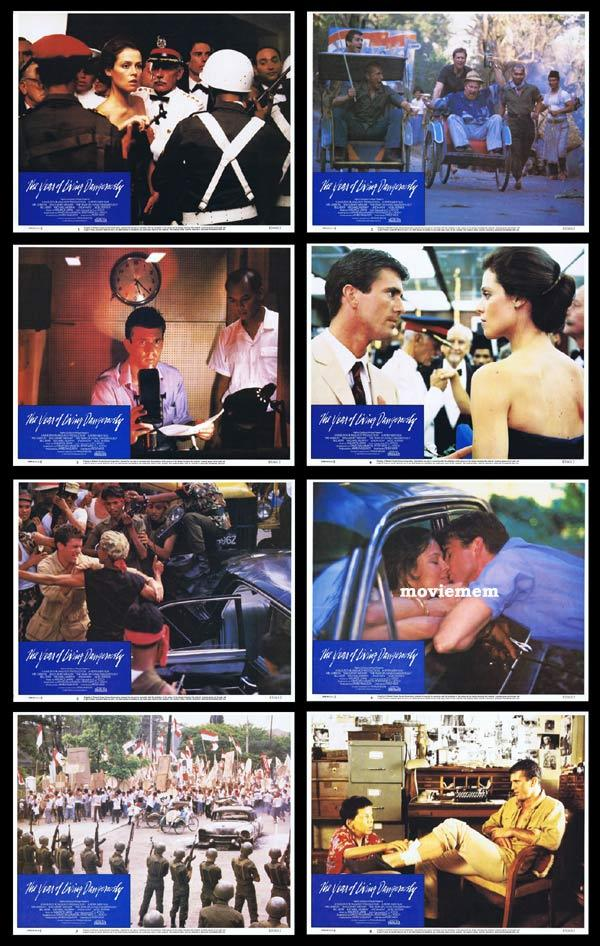 THE YEAR OF LIVING DANGEROUSLY Lobby Card Set Mel Gibson