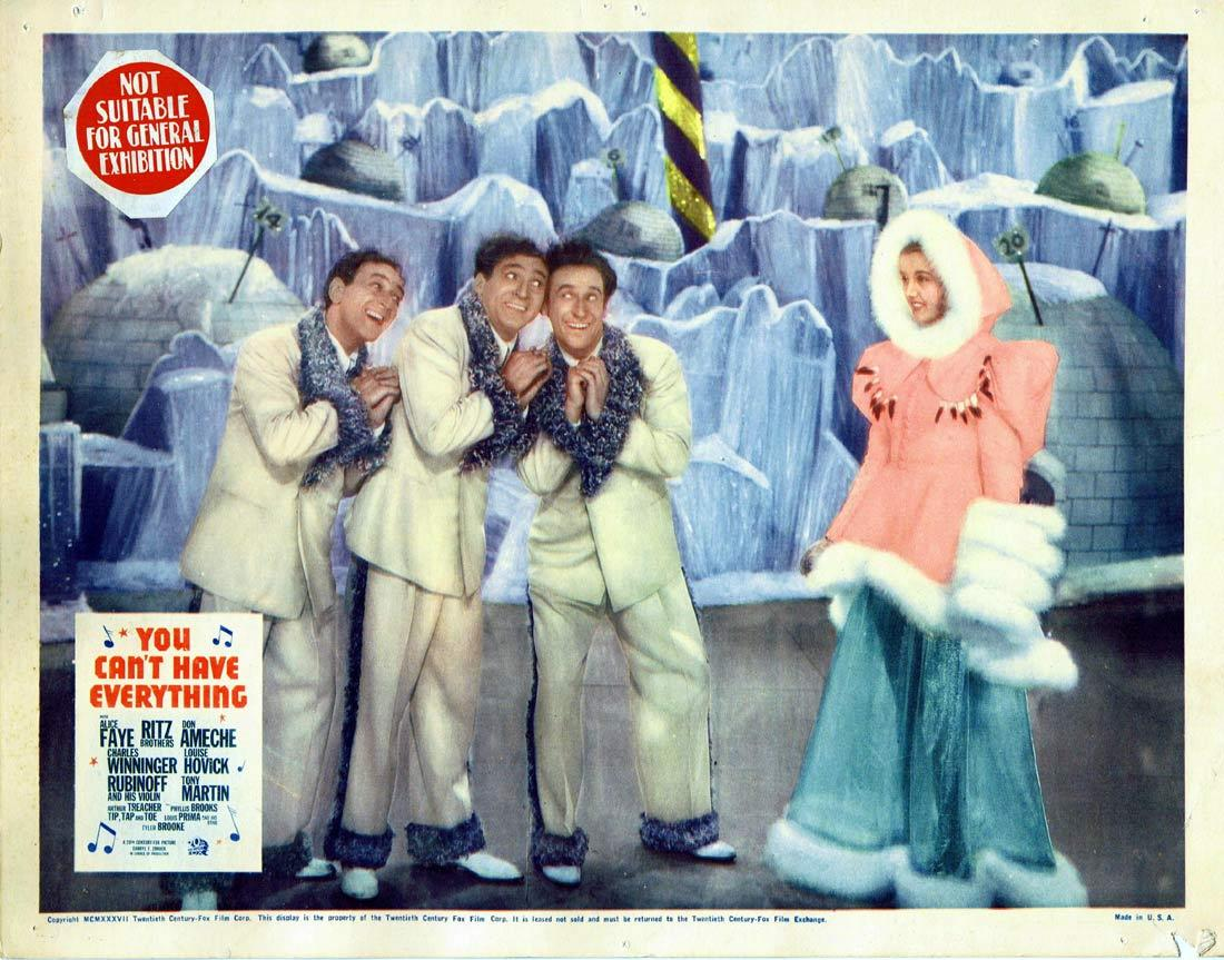 YOU CANT HAVE EVERYTHING Lobby Card 3 Abbott and Costello