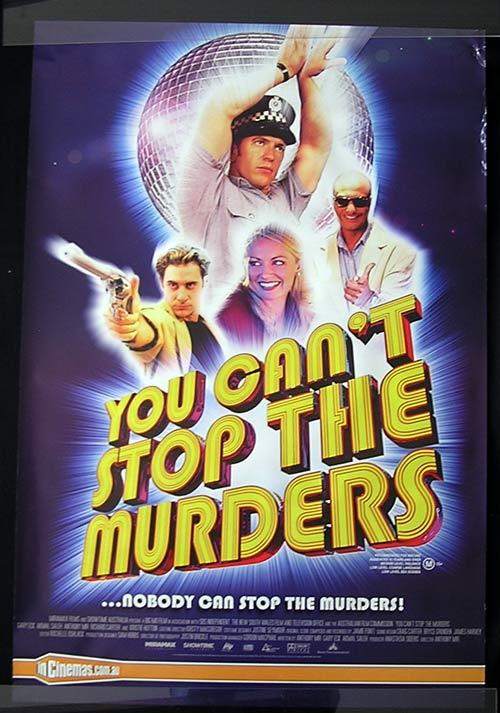YOU CAN'T STOP THE MURDERS Movie poster 2003 Anthony Mir Australian Cinema One sheet