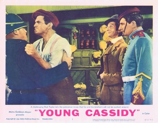 YOUNG CASSIDY Lobby Card 4 1965 Rod Taylor Julie Christie