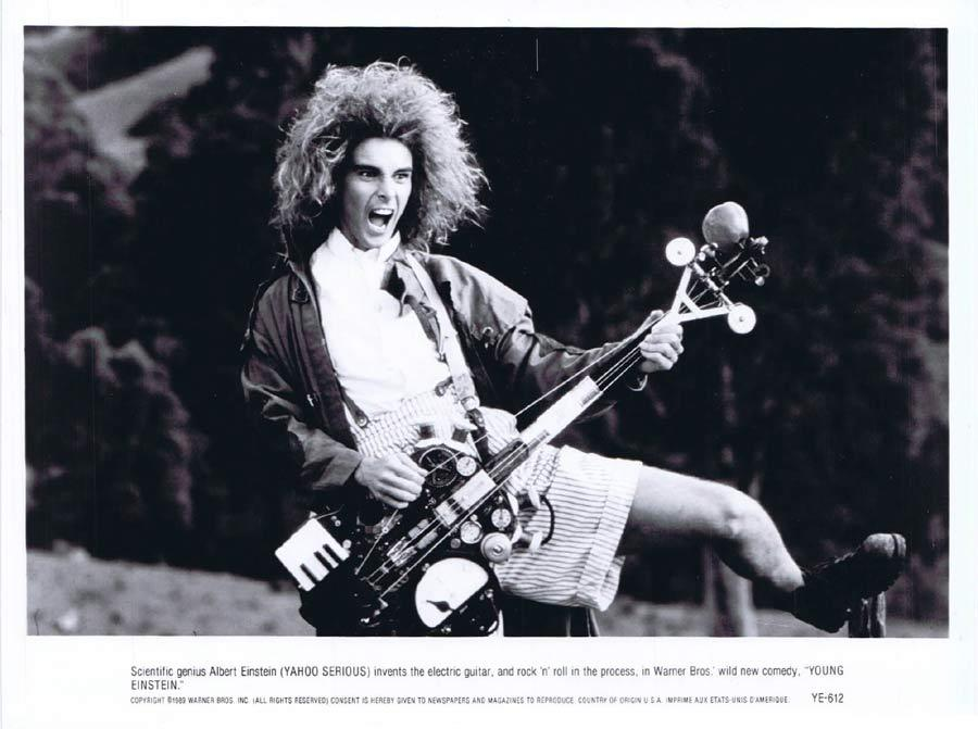YOUNG EINSTEIN Original Movie Still 1 Yahoo Serious as Albert Einstein