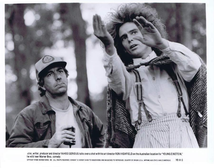 YOUNG EINSTEIN Original Movie Still 5 Yahoo Serious as Albert Einstein