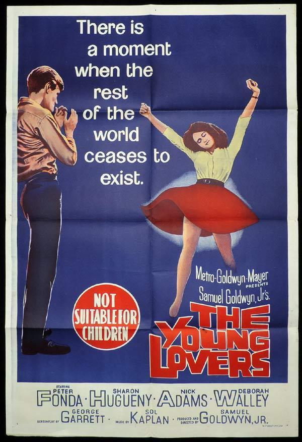 THE YOUNG LOVERS One Sheet Movie Poster William Holden