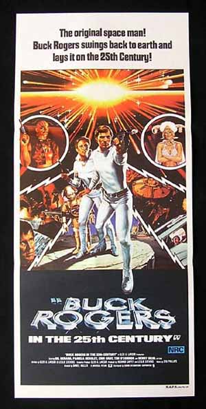 BUCK ROGERS IN THE 25th CENTURY Original Daybill Movie poster Gil Gerard Sci Fi