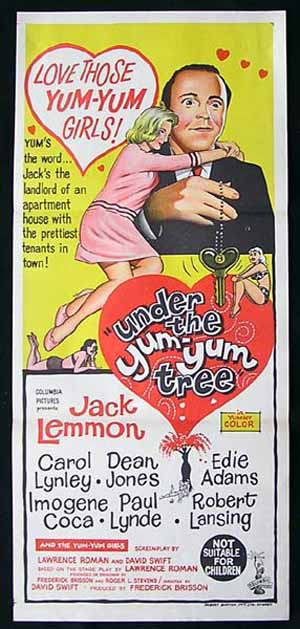 UNDER THE YUM YUM TREE '63-Jack Lemmon poster