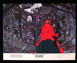 WIZARDS Movie Poster 1977 Ralph Bakshi 8 x 10 US Lobby Card / Still 3
