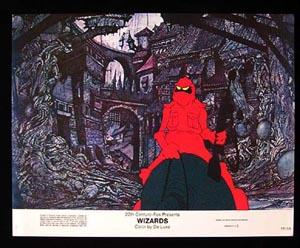 WIZARDS Movie Poster 1977 Ralph Bakshi 8 x 10 US Lobby Card / Still 3