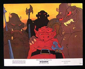 WIZARDS Movie Poster 1977 Ralph Bakshi 8 x 10 US Lobby Card / Still 4