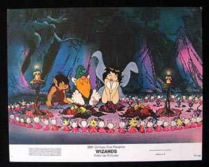 WIZARDS Movie Poster 1977 Ralph Bakshi 8 x 10 US Lobby Card / Still 6