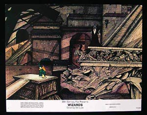 WIZARDS Movie Poster 1977 Ralph Bakshi 8 x 10 US Lobby Card / Still 8