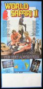 WORLD SAFARI 2 '84 Alby Mangels AUSTRALIAN FILM Daybill Movie poster