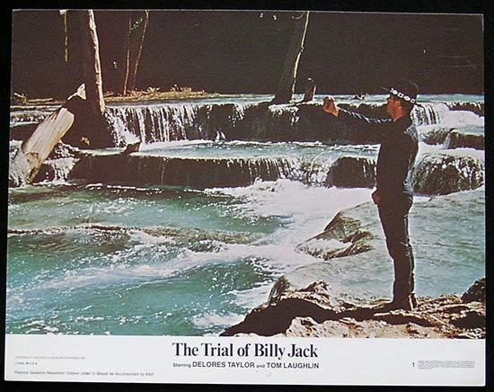 TRIAL OF BILLY JACK '74 Tom Laughlin US Lobby card #1