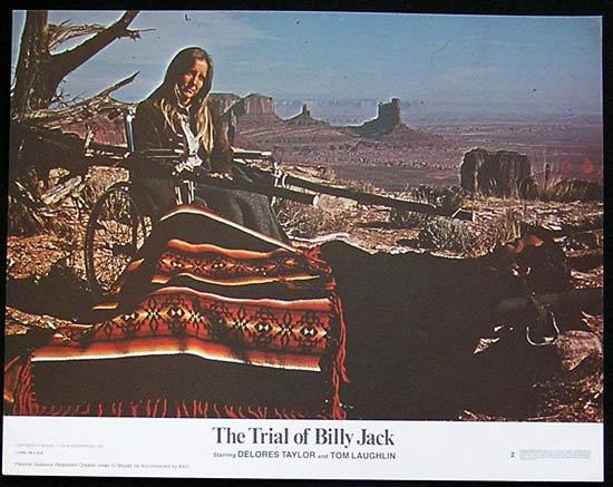 TRIAL OF BILLY JACK '74 Tom Laughlin US Lobby card #2