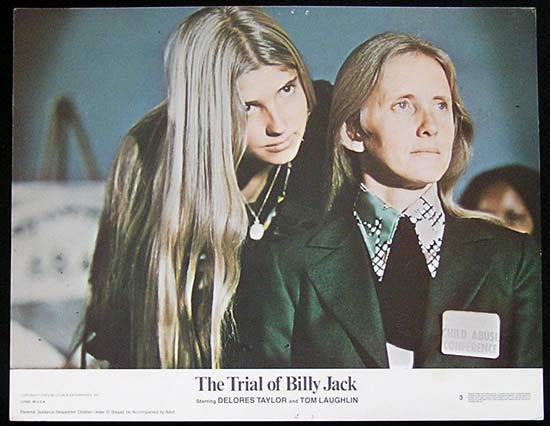 TRIAL OF BILLY JACK '74 Tom Laughlin US Lobby card #3