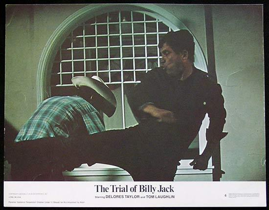 TRIAL OF BILLY JACK '74 Tom Laughlin US Lobby card #6