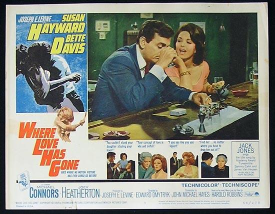 WHERE LOVE HAS GONE '64 Susan Hayward-Bette Davis Lobby Card #7