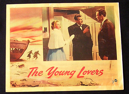 YOUNG LOVERS Lobby Card 1954 Anthony Asquith