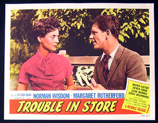 TROUBLE IN STORE Lobby Card 5 1955 Norman Wisdom British Comedy
