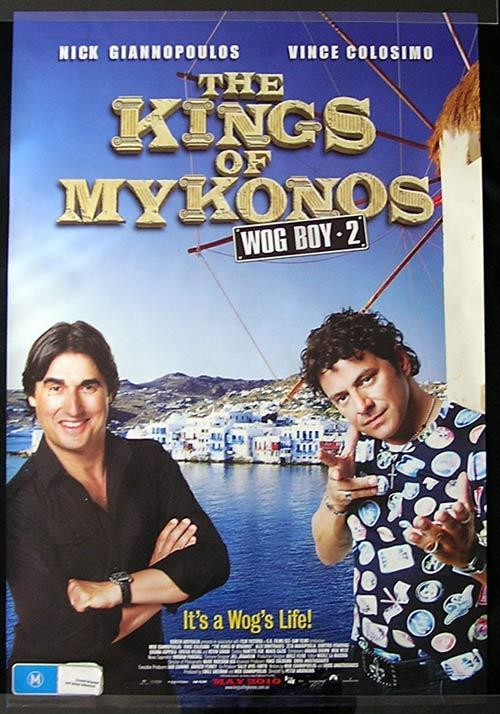 WOG BOY 2 KINGS OF MYKONOS Movie poster 2010 Nick Giannopoulos Australian Cinema