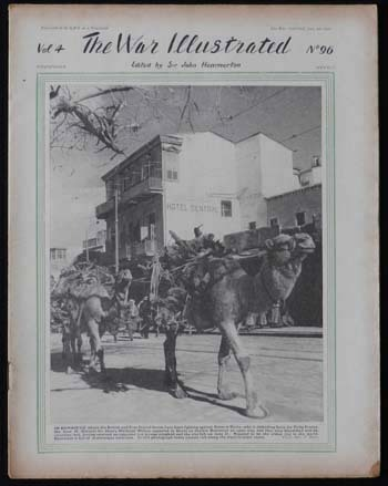 War Illustrated Magazine July 4 1941 Camels in Damascus