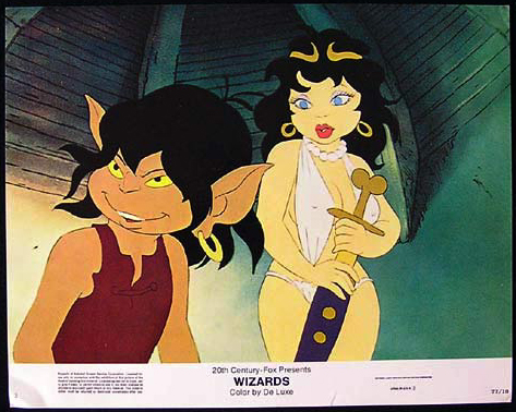WIZARDS Movie Poster 1977 Ralph Bakshi Lobby Card 2