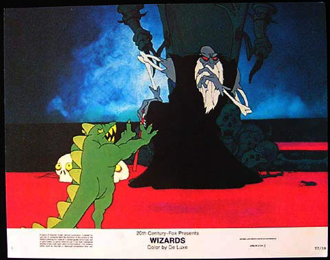 WIZARDS Movie Poster 1977 Ralph Bakshi Lobby Card 5