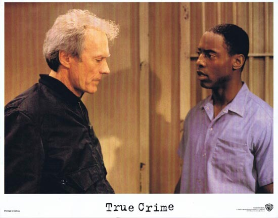 TRUE CRIME US Lobby card 1 1999 Clint Eastwood