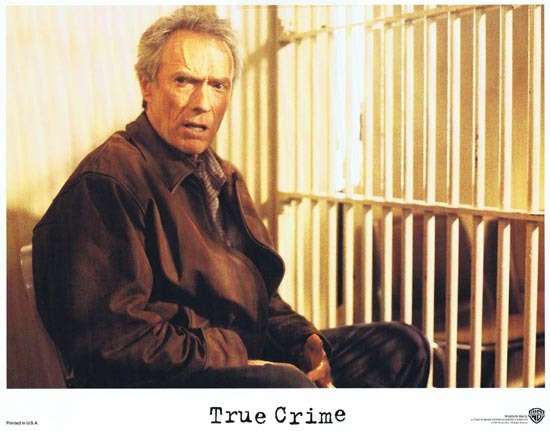 TRUE CRIME US Lobby card 3 1999 Clint Eastwood