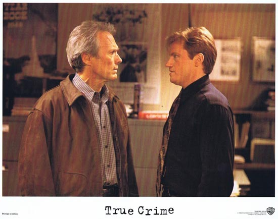 TRUE CRIME US Lobby card 4 1999 Clint Eastwood