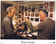 TRUE CRIME US Lobby card 5 1999 Clint Eastwood