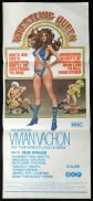 WRESTLING QUEEN Vivian Vachon RARE Daybill Movie poster