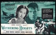 WUTHERING HEIGHTS 1939 Merle Oberon Laurence Olivier VINTAGE Original Movie Trade Ad