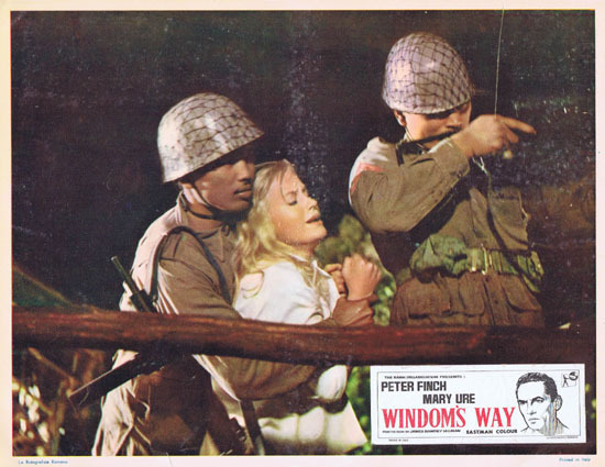 WINDOMS WAY 1957 Rare Peter Finch Lobby Card 4