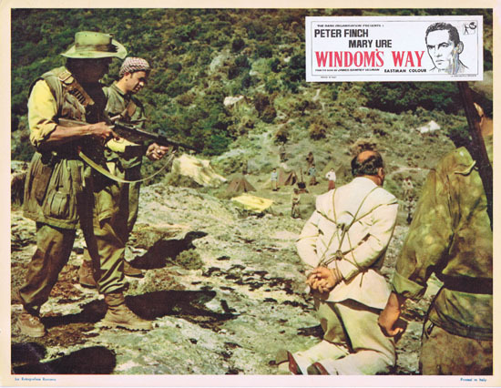 WINDOMS WAY 1957 Rare Peter Finch Lobby Card 6