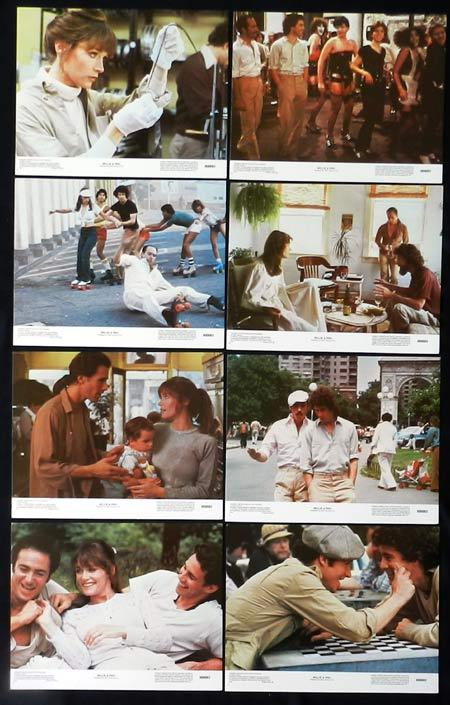WILLIE AND PHIL US Lobby Card set Paul Mazursky Michael Ontkean