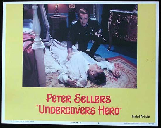 UNDERCOVERS HERO Vintage Lobby Card 4 Peter Sellers