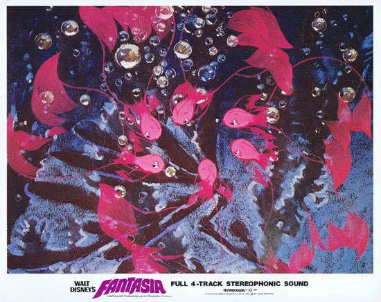 WALT DISNEY'S FANTASIA Lobby Card 70Sr Classic image
