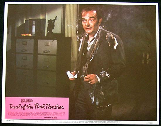 TRAIL OF THE PINK PANTHER Lobby Card 5 Peter Sellers Joanna Lumley