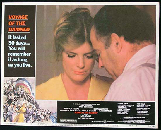 VOYAGE OF THE DAMNED 1976 Katherine Ross Lobby Card 6