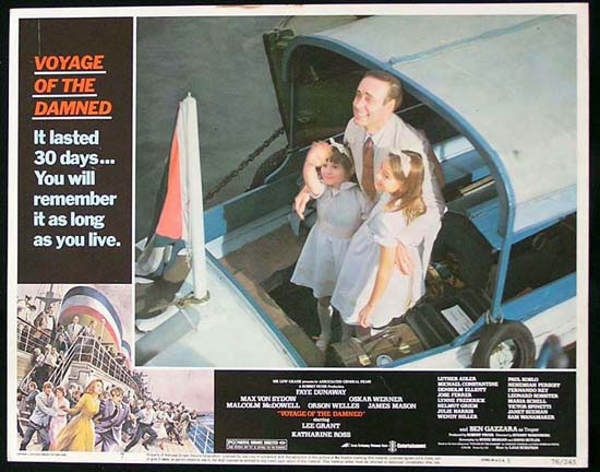 VOYAGE OF THE DAMNED 1976 Katherine Ross Lobby Card 7