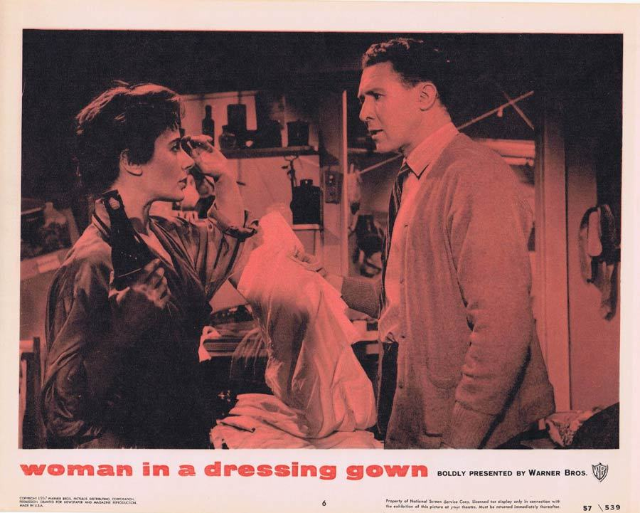 WOMAN IN A DRESSING GOWN Lobby card 6 Anthony Quayle