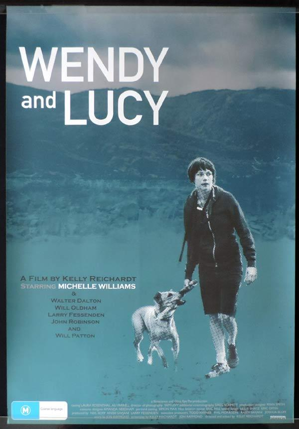 WENDY AND LUCY One Sheet Movie Poster Michelle Williams