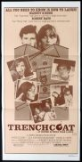 TRENCHCOAT Daybill Movie Poster Margot Kidder and Robert Hays