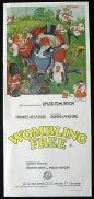 WOMBLING FREE Daybill Movie Poster The Wombles